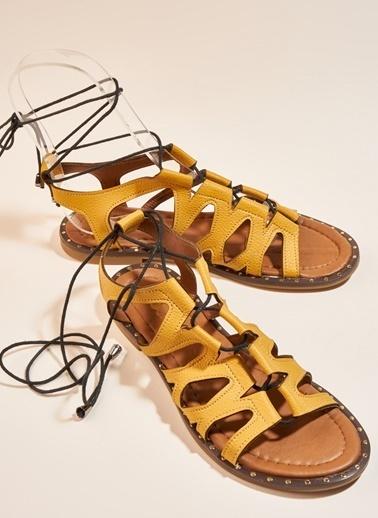 Bambi Sandalet Hardal